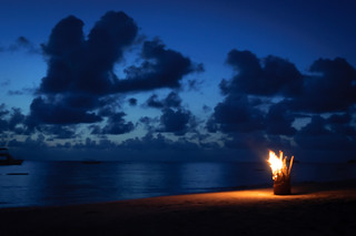 Beach Bonfire 1