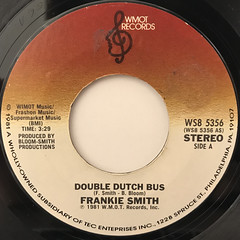 FRANKIE SMITH:DOUBLE DUTCH BUS(LABEL SIDE-A)