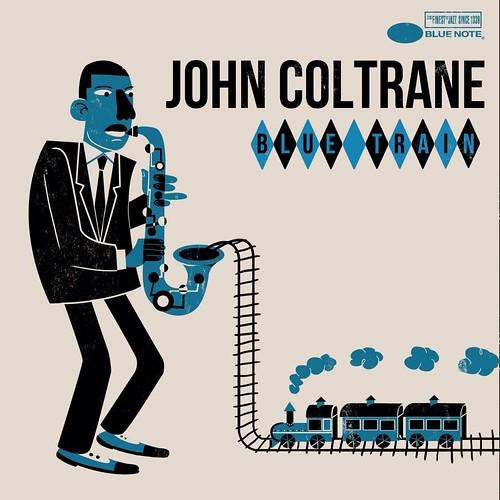 Jim Flora John Coltrane