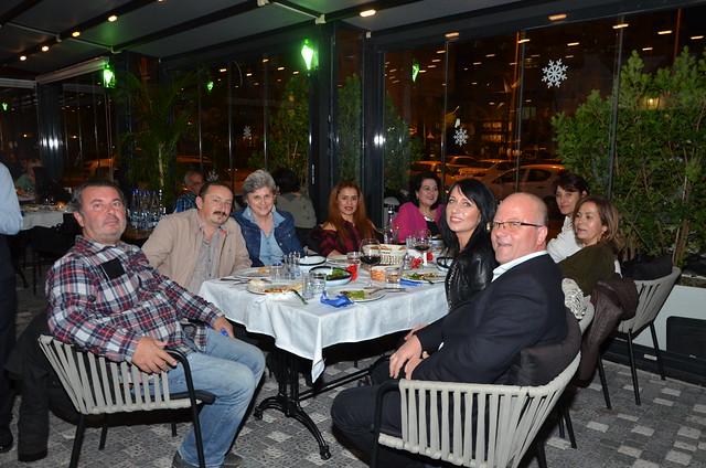 TÜRSAB Alanya Bölgesel Yürütme Kurulu Başkanı Suat Çavuşoğlu ve dostları da Mezza'daydı.