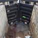 K&AC: Seend -  Lock 18 drained & under repair