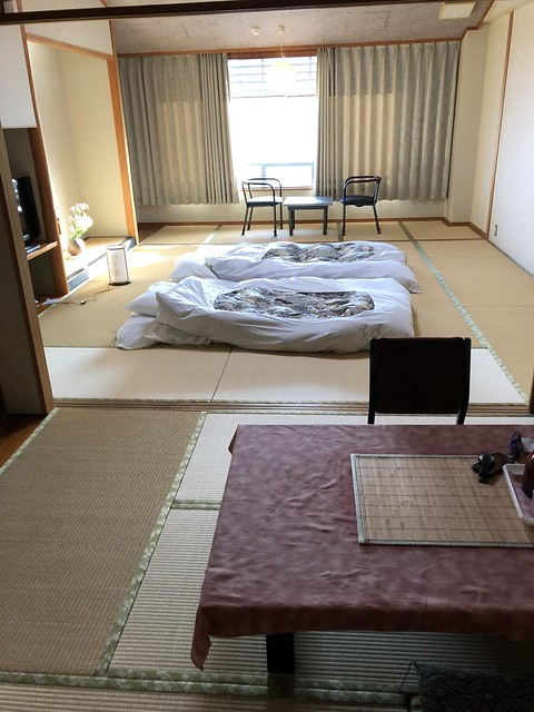 Ryokan set up