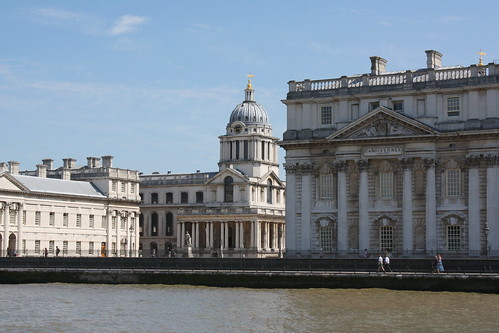 Queen Mary Court des Old Royal Naval Collage Greenwich