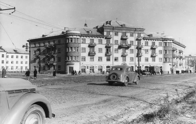Улица Урицкого, 1955-й год