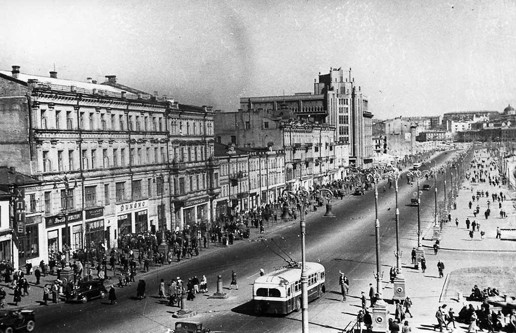 Крещатик, 1949 год