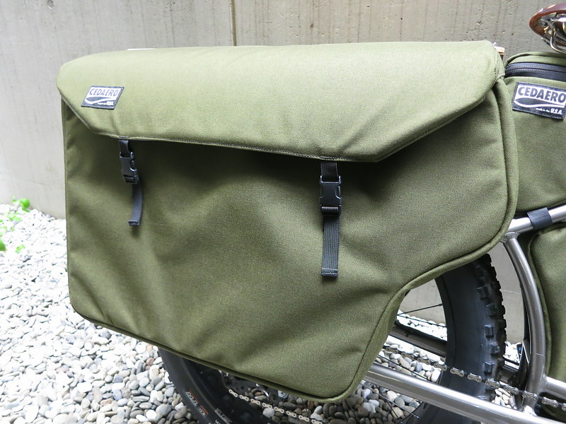 CEDAERO Blackborow Pannier