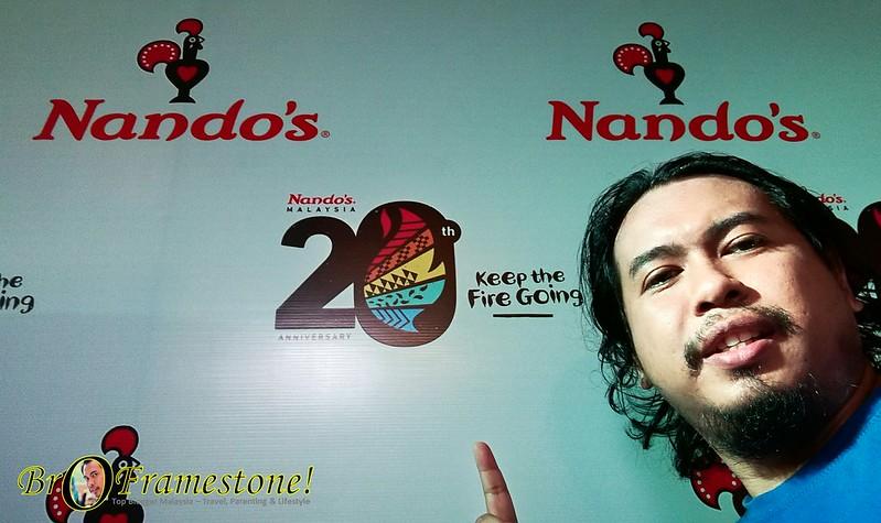 Ulang Tahun ke-20 Nando's Malaysia