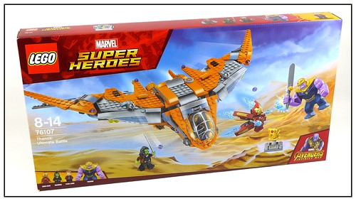 LEGO 2018 Marvel Super Heroes Avengers Infinity War box 11