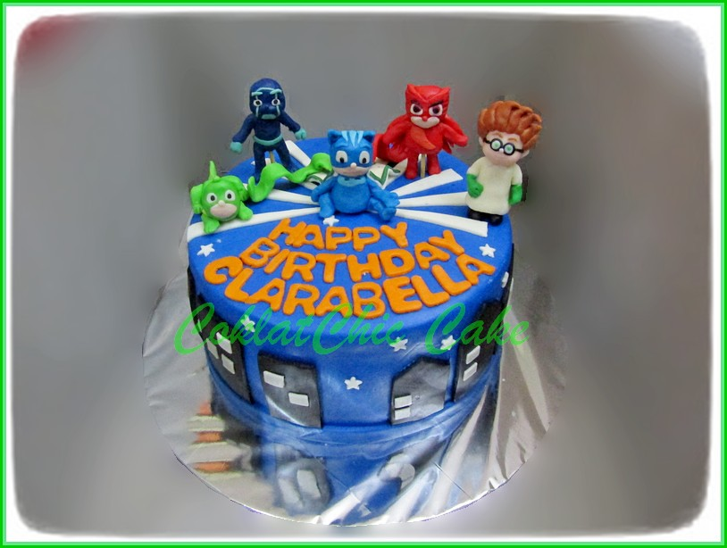 Cake PJ MASK CLARABELLA 15 cm