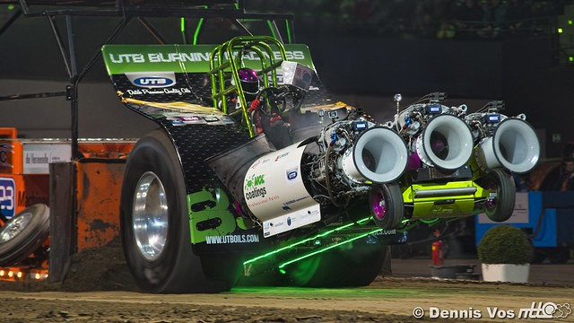 European Superpull 2018 Modifieds