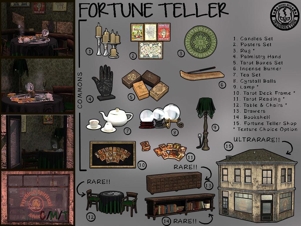 [IK] Fortune Teller Gacha - Key - TeleportHub.com Live!