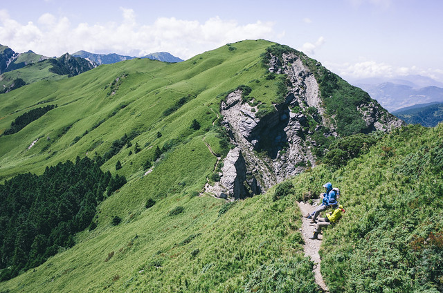 往奇萊北峰