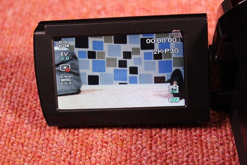 TOMTOP Andoer 4K ビデオカメラ 開封レビュー (65)