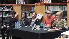 """Presentació del llibre """"L'Hora quieta"""" de M. Dolors Farrés, a la Biblioteca Joan Triadú de Vic"""