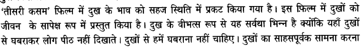 Chapter Wise Important Questions CBSE Class 10 Hindi B - तीसरी कसम के शिल्पकार शैलेंद्र 11a