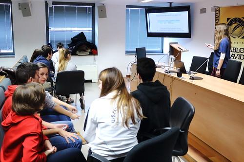 El IES María Galiana gana el concurso de Trivial de la UPO