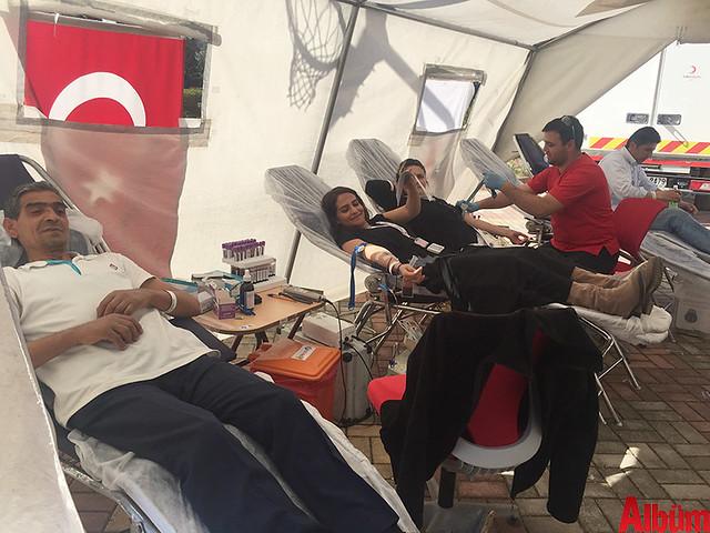 Bahçeşehir Koleji Alanya kan bağışı etkinliği -3