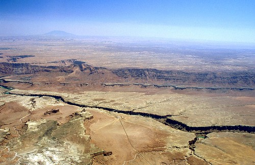 vueaérienne lecolorado navajobridge arizona étatsunis marblecanyon