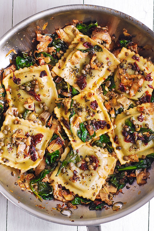 Italian ravioli recipe, best Italian ravioli, ravioli with veggies