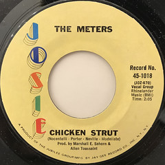 THE METERS:CHICKEN STRUT(LABEL SIDE-A)