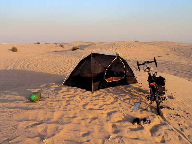 My last campsite of the trip by bryandkeith on flickr