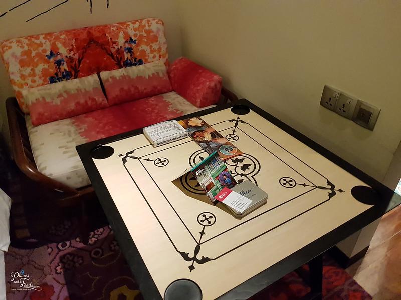 hotel indigo carrom board
