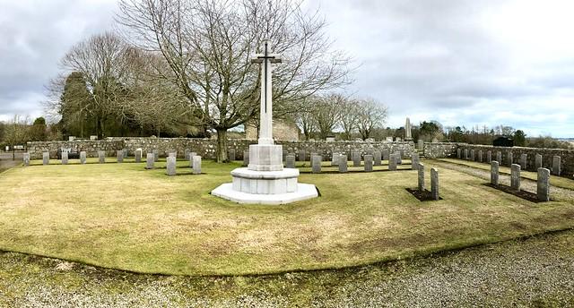Commonwealth War Graves - Dyce Aberdeen Scotland - 23/3/2018
