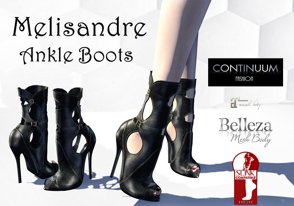 Continuum Melisandre Ankle Boots - TeleportHub.com Live!