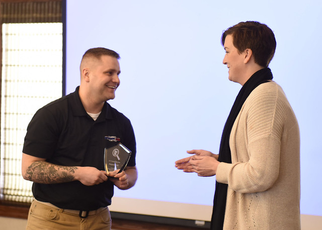 Minnesota Guardsman Receives Award for Combating Drugs in his Community