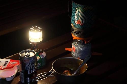 ジェットボイルの夜