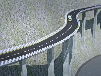 ऑलवेदर रोड का मैप