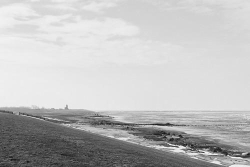 Wadden Sea at Wierum