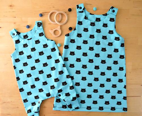 peto+vestit bebe gatete