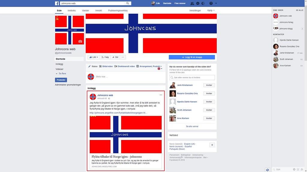 mer fra facebook johncons web