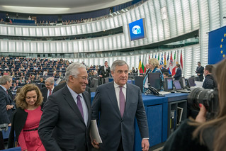 Portuguese Prime Minister António Costa debated the future of Europe with MEPs