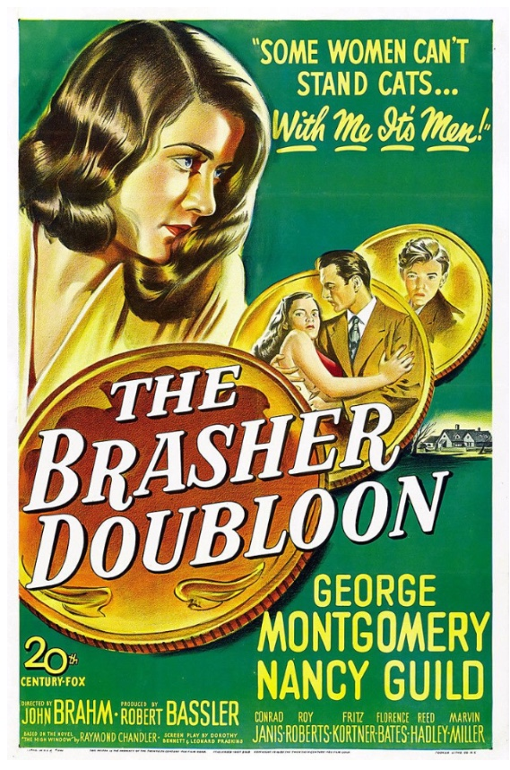 The Brasher Doubloon - Poster 2