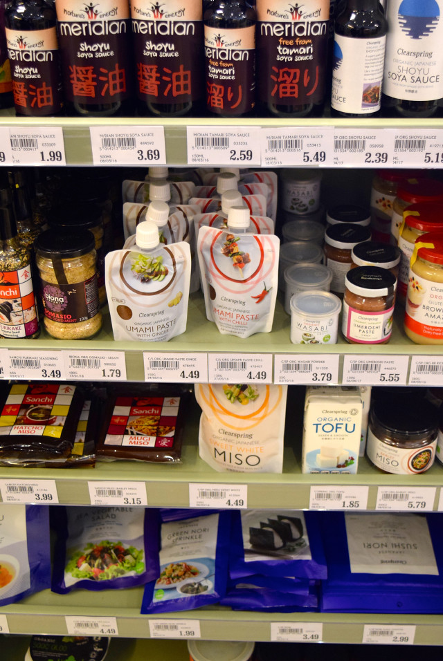 Asian Ingredients at Canterbury Wholefoods