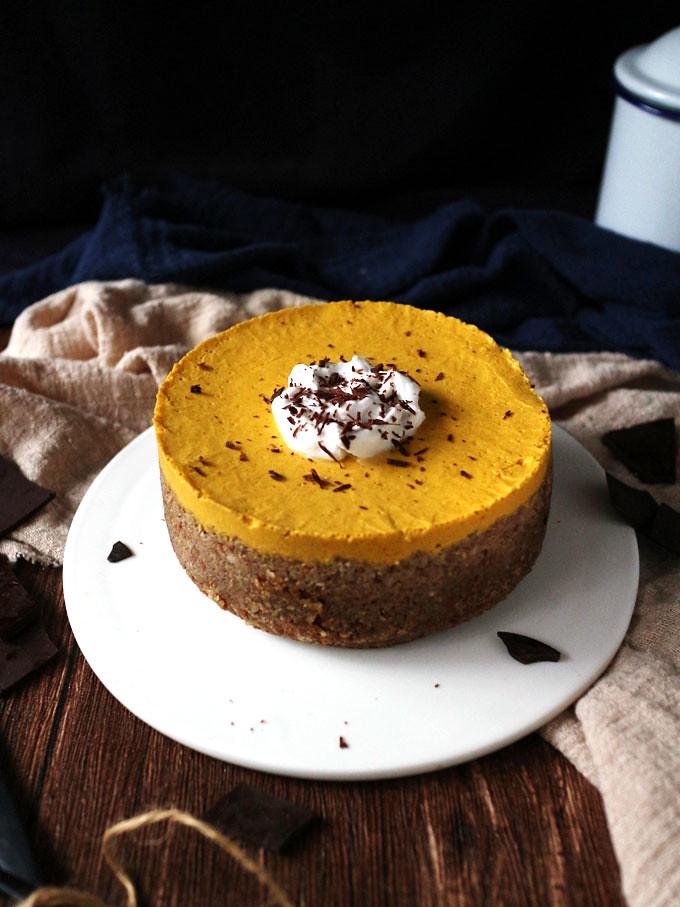 全素免烤南瓜派 (無麵粉) vegan-no-bake-pumpkin-pie (3)