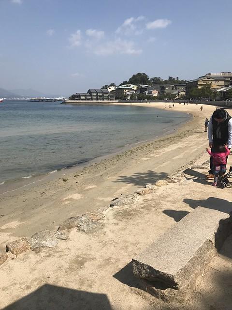 Miyajima coastline