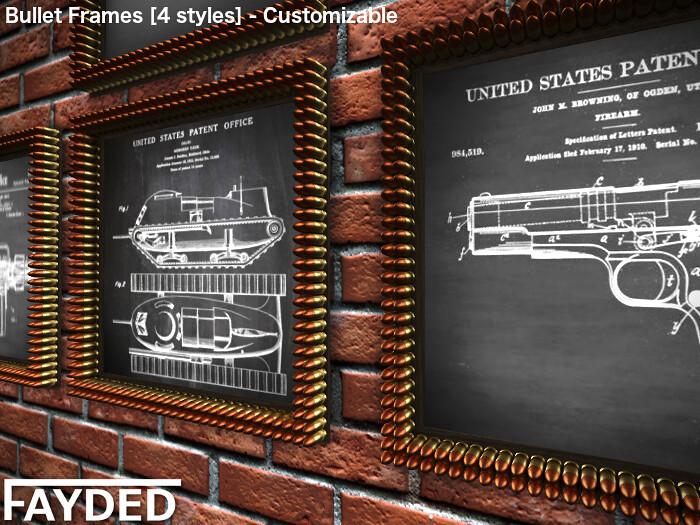 FAYDED - Bullet Frames - TeleportHub.com Live!