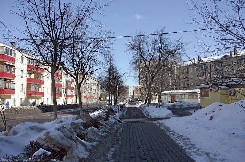 Королёв, улица Коминтерна.