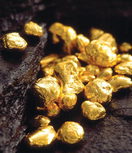 Частицы золота
