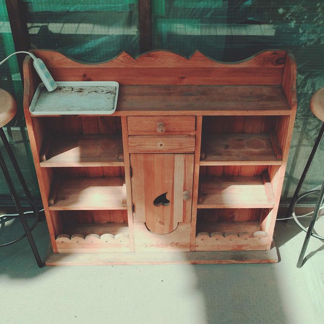 Small storage cabinet
