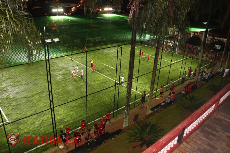 E Quadra inaugurações - campo de futebol society e quadra de voley de areia