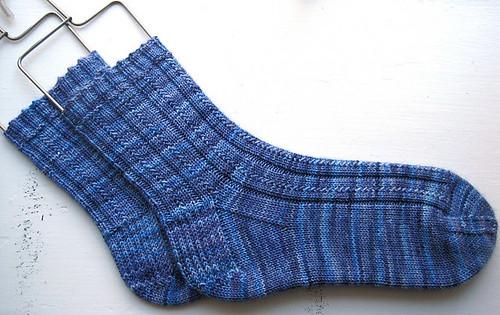 ssummerer's Simple Skyp Socks knit in Koigu KPPPM