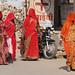 Shopping Trip Khimsar Village by Mike Longhurst