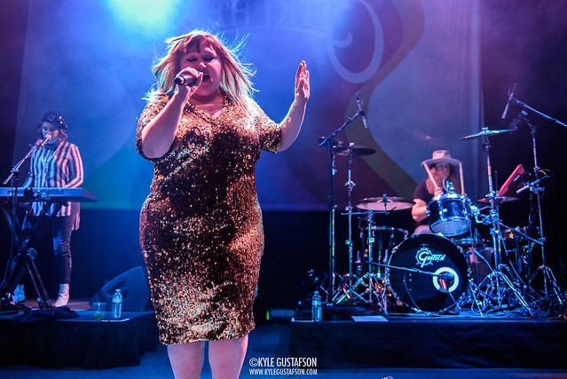 Beth Ditto performs at the 9:30 Club.