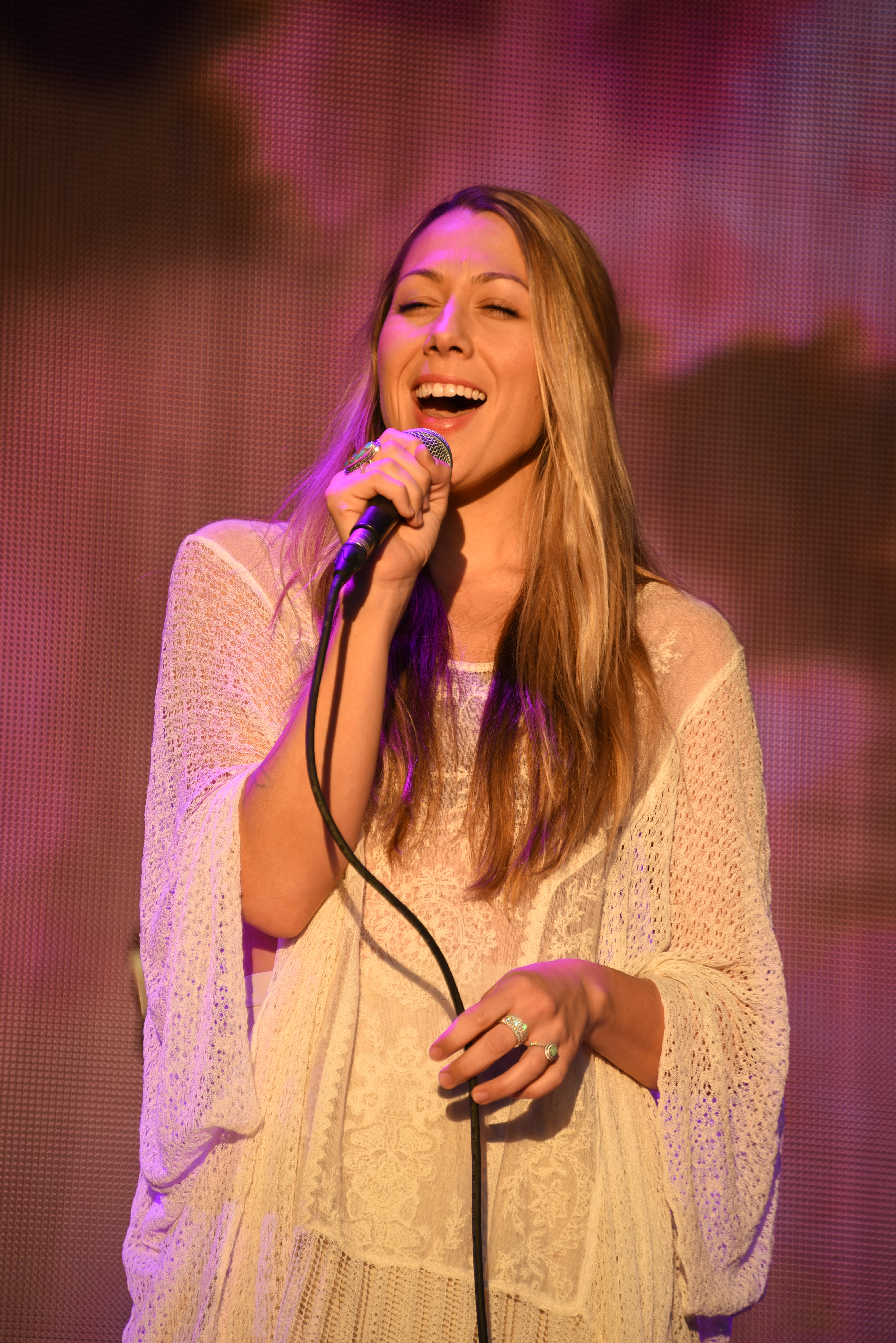 Colbie Caillot Thomas Fire Benefit Festival