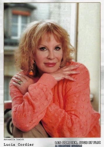 Antonella Lualdi in Les Cordier, juge et flic (1992-2005)