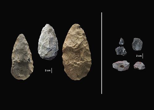 Olorgesailie Achulean Handaxes MSA points pigments